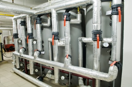 Boiler piping in Riverwoods, IL by Jimmi The Plumber