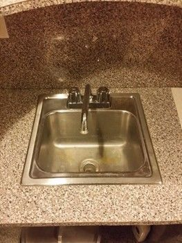 Install new faucet