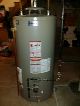 Installed new 40 Gallon water heater Long Grove, IL