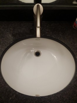 Installed new bathroom sink and faucet Buffalo Grove, IL