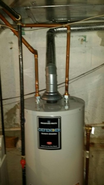 Jimmi The Plumber Installed New Water Heater in Buffalo Grove, IL