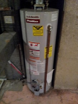 New Water Heater Install Des Plaines IL